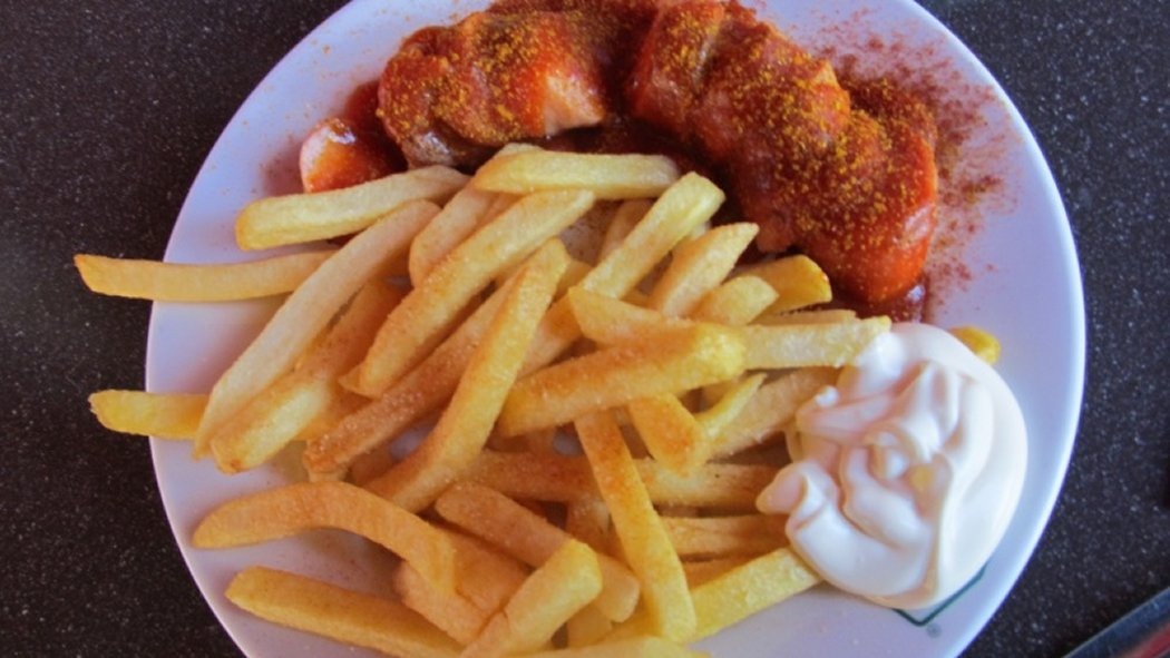 Curry mit Biss Currywurst