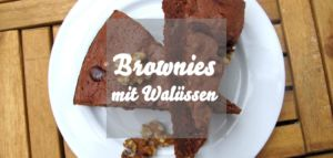 Brownies mit Walnüssen