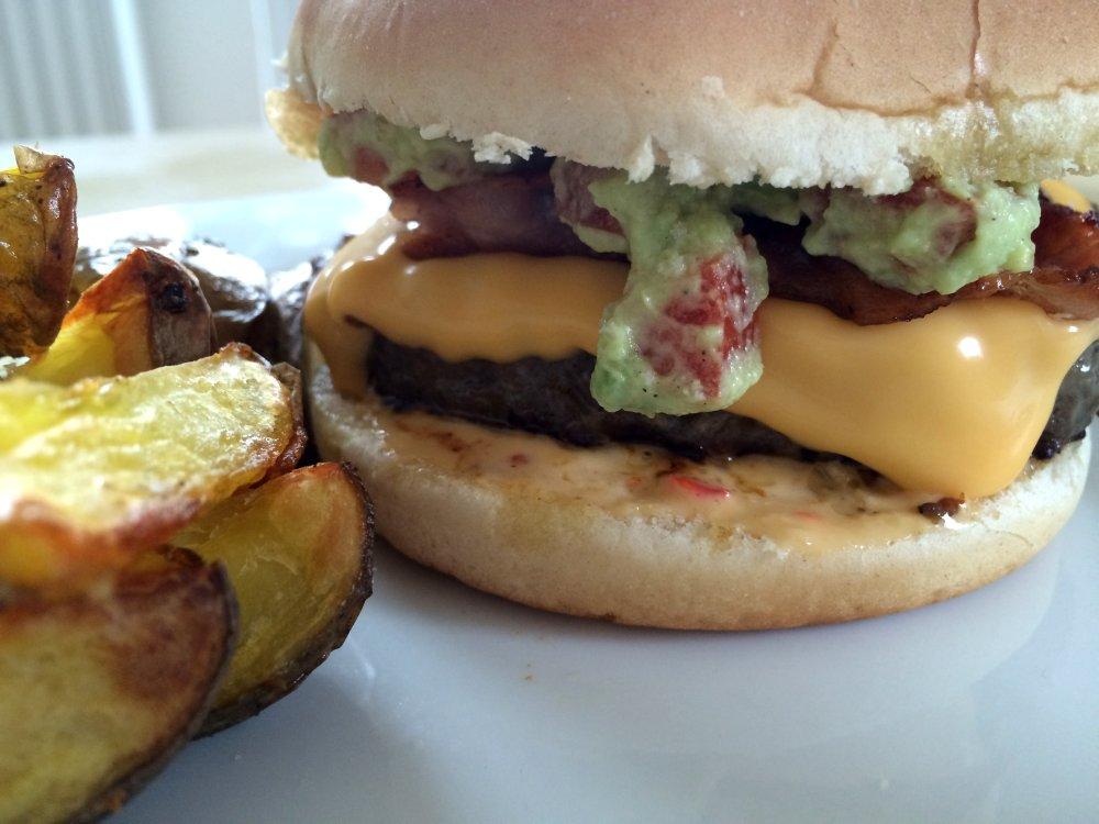 Querschnitt Supreme Burger