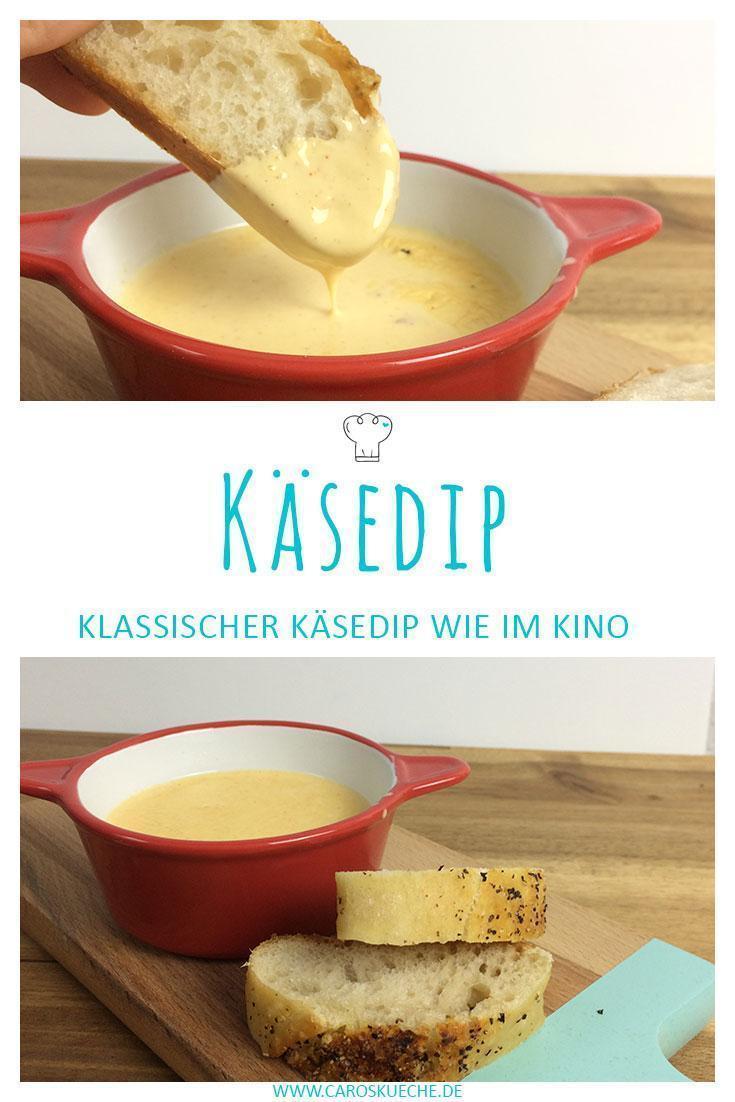 Käsedip für Nachos selber machen