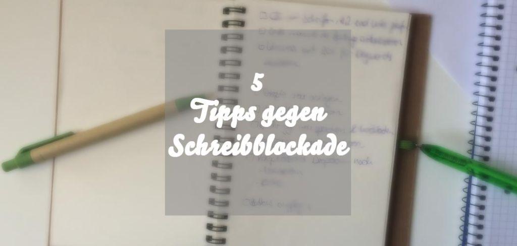 Tipps gegen Schreibblockade