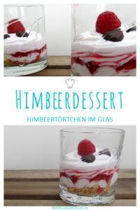 Himbeerdessert im Glas » Himbeertraum
