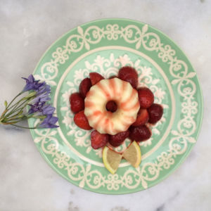 Mini-Eisgugl Zitronenkuchen