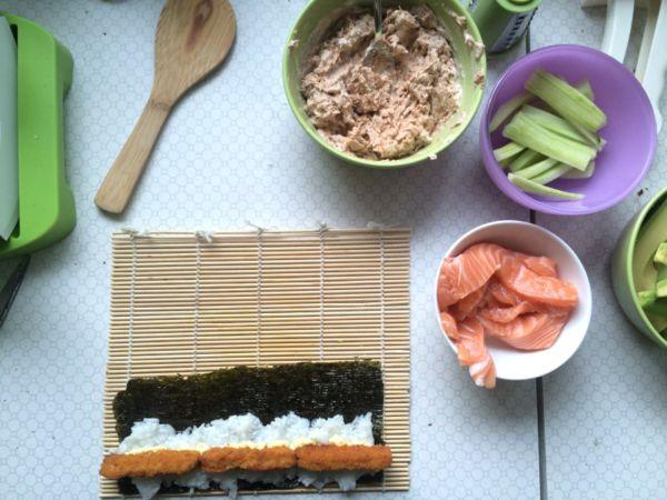 Zutaten Sushi selbermachen
