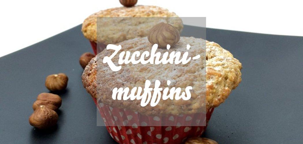 Zucchinimuffins mit Haselnüssen