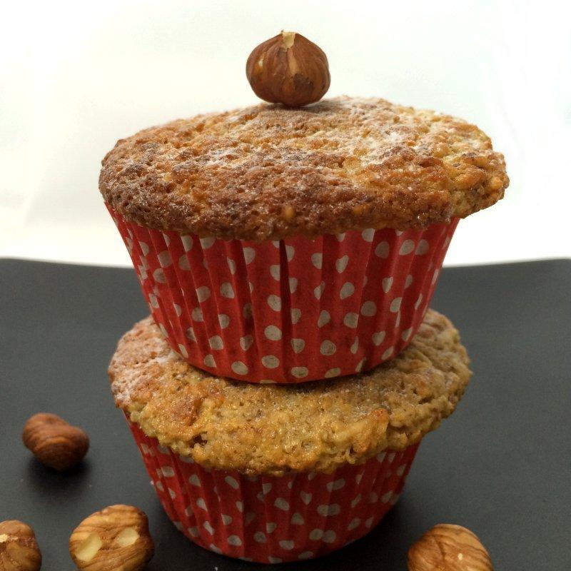 Muffins mit Haselnüssen