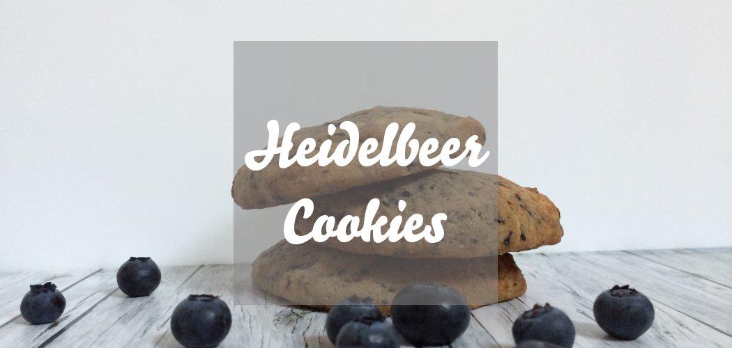 Heidelbeercookies