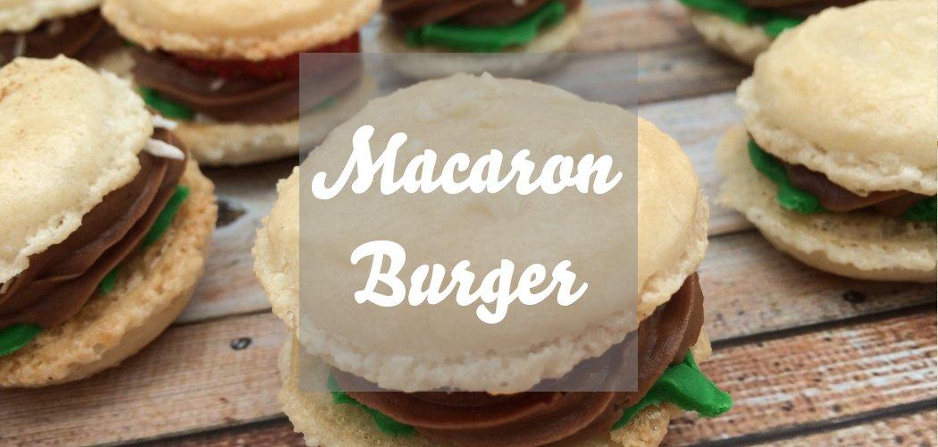 Macaron Mini Burger