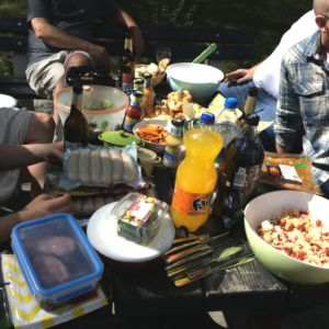 Grillparty Sommer