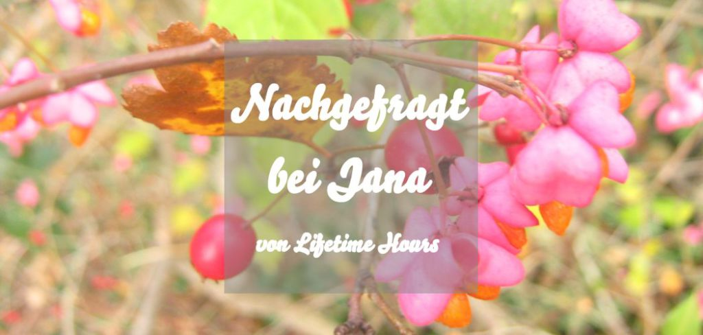 Nachgefragt bei Jana von Lifetime Hours