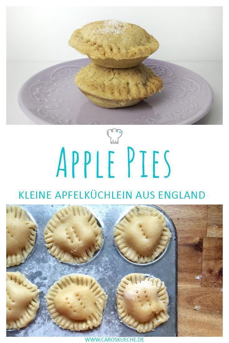 Englische Mini-Apple Pies in Muffingröße