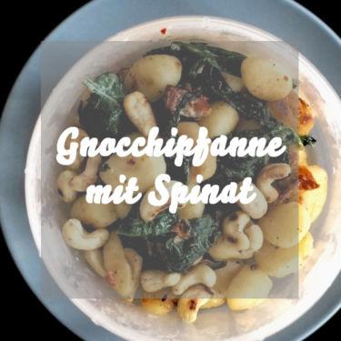 Gnocchipfanne mit Spinat