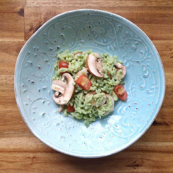 Bärlauch-Spätzle-Salat