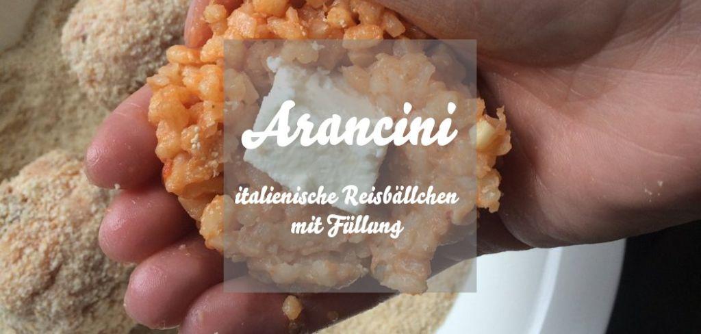 Arancini italienische Reisbällchen