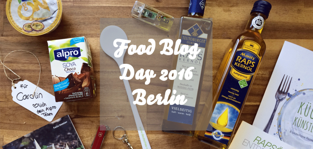 Food Blog Day Berlin 2016