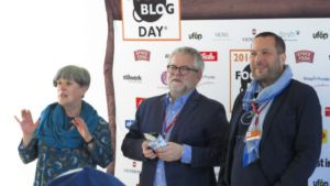 Begrüßung beim Food Blog Day Berlin