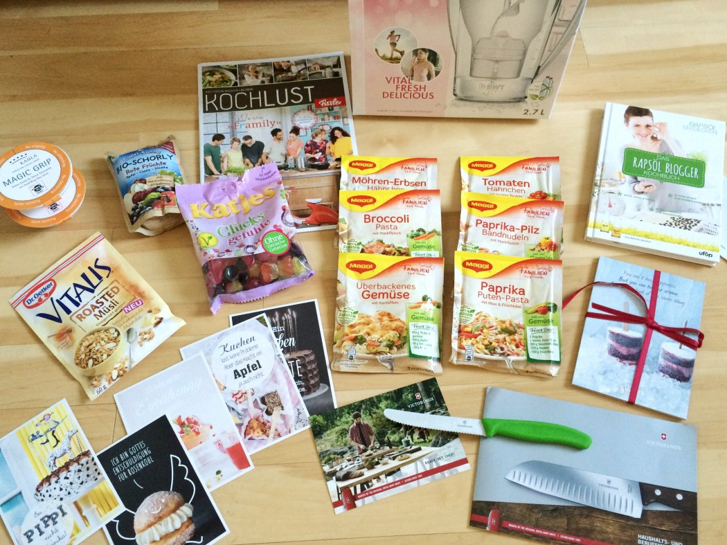 Goodie Bag Food Blog Day 2016