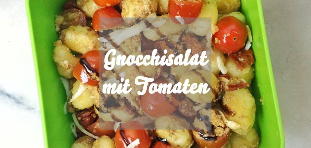 Gnocchisalat mit Tomaten