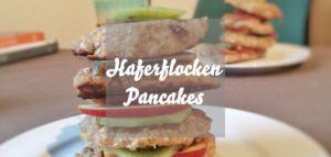 Haferflocken-Pancakes