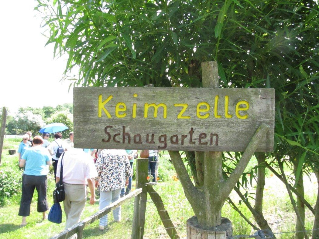 Schaugarten Keimzelle Vichel