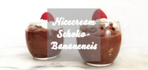 Nicecream Eis Schokolade Banane
