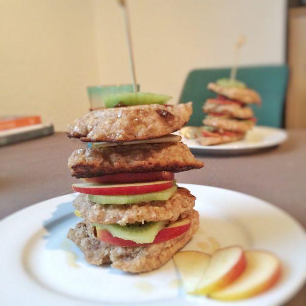 Haferflocken Pancakes Kölln Müsli