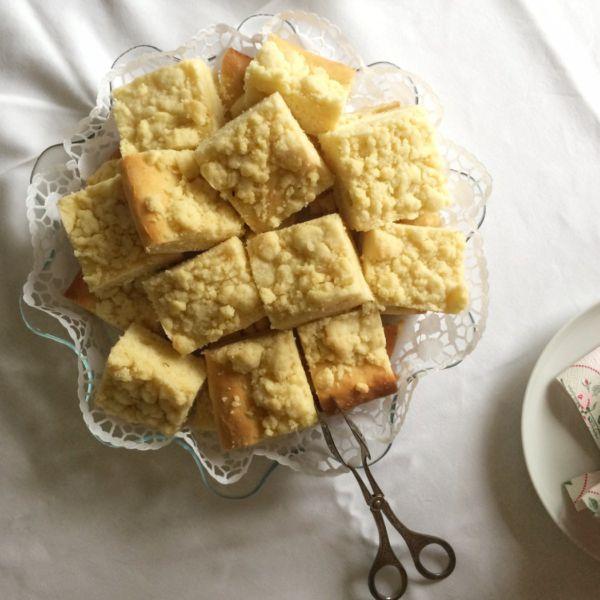Saftiger Streuselkuchen