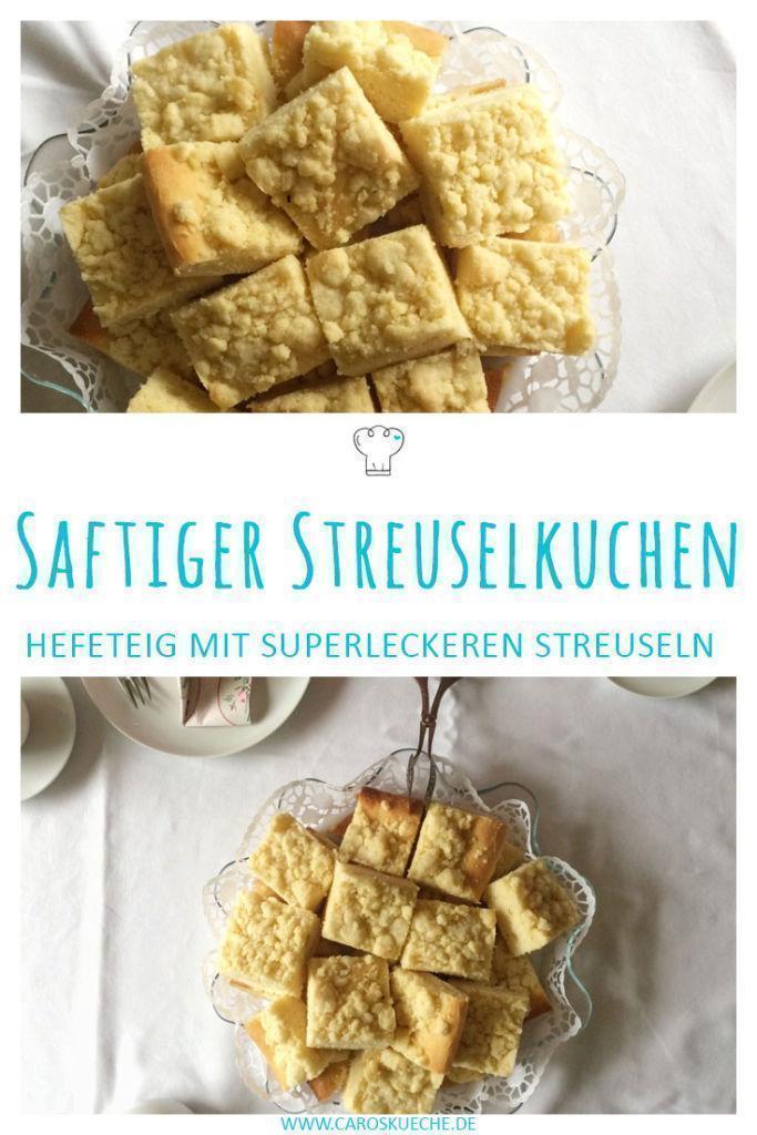 Klassischer Streuselkuchen