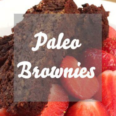 Paleo Brownies mit Süßkartoffeln