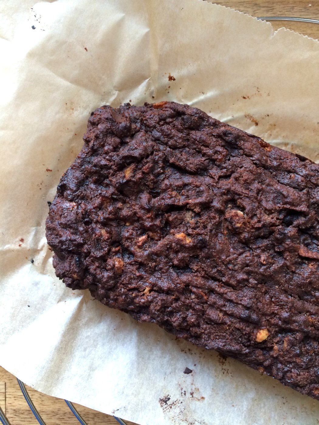 Paleo Brownie am Stück