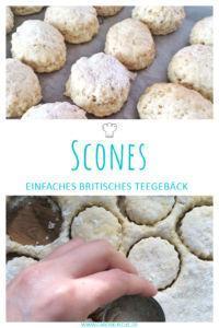 Englische Scones » Einfaches Rezept