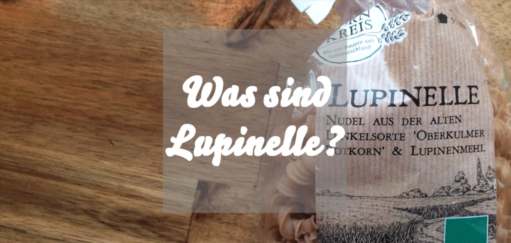 Lupinelle aus Lupinenmehl