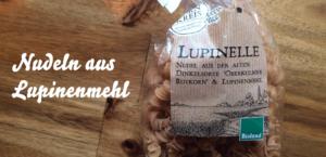 Nudeln aus Lupinenmehl