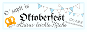 Oktoberfest Anisas leichte Küche
