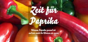 Zeit für Paprika