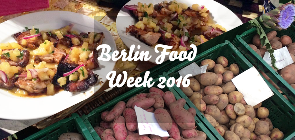Berlin Food Week 2016