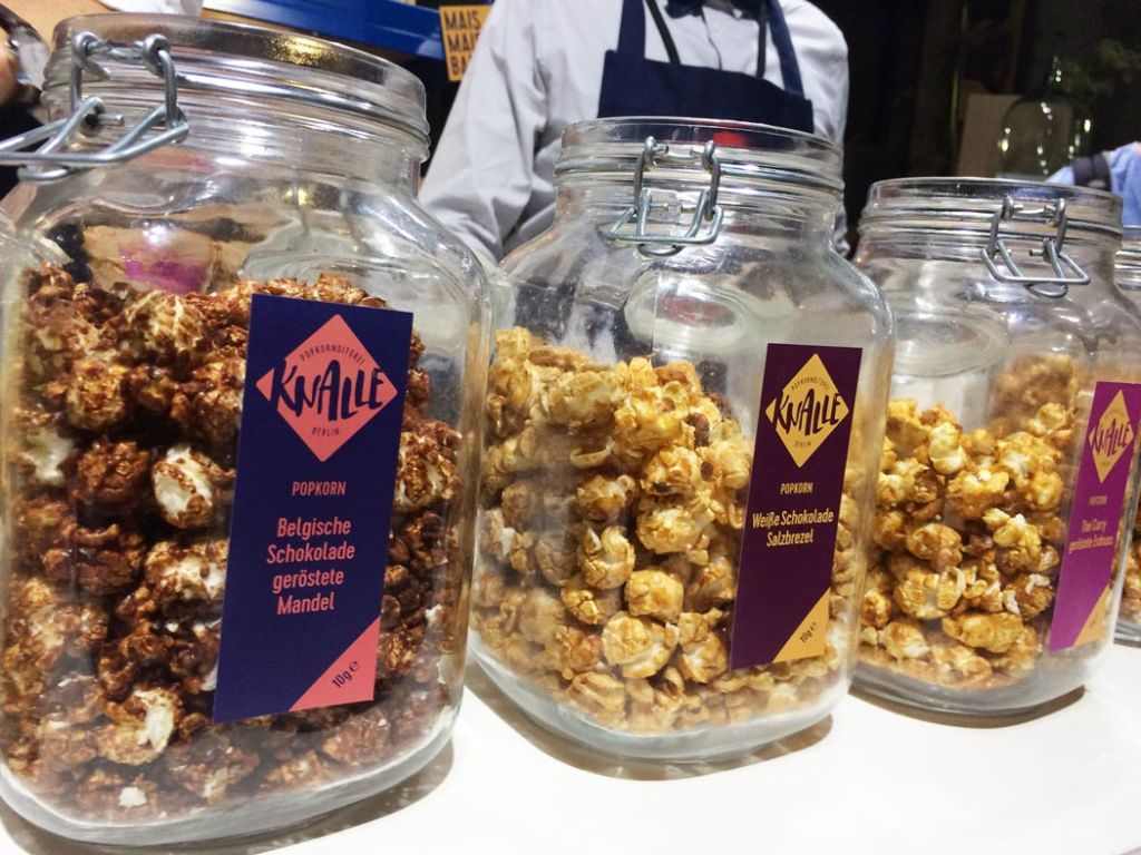 Knalles Popkornditorei im House of Food 2016