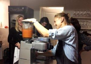 Tomaten-Kürbisketchup pürieren mit dem Kenwood Cooking Chef