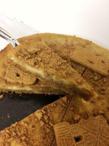 Spekulatius-Cheesecake vegan mit Seidentofu