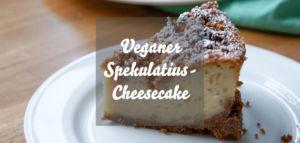 Veganer Spekulatius-Cheesecake