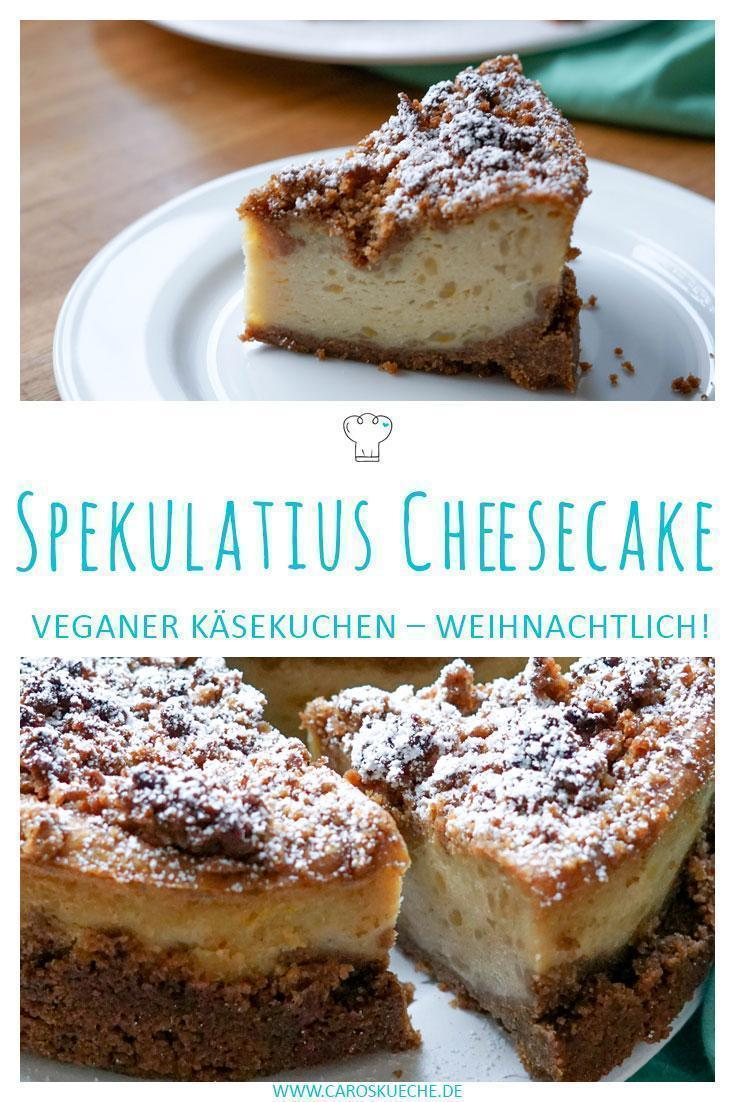 Weihnachtlicher Käsekuchen » Spekulatius Cheesecake