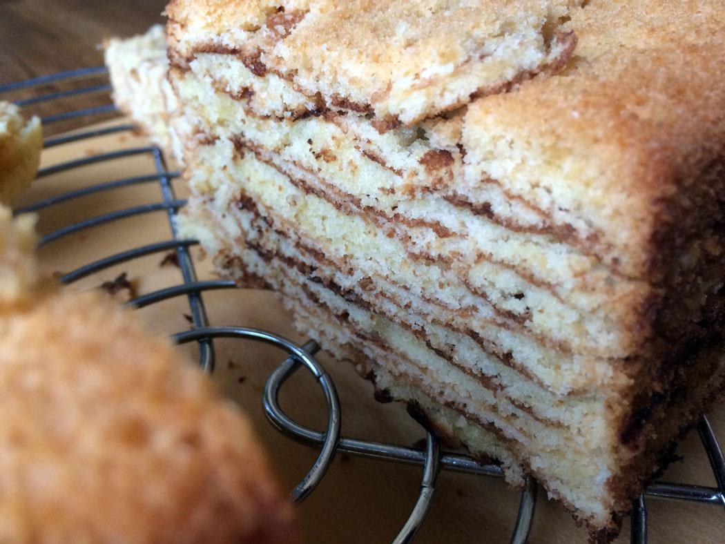 Baumkuchen Anschnitt