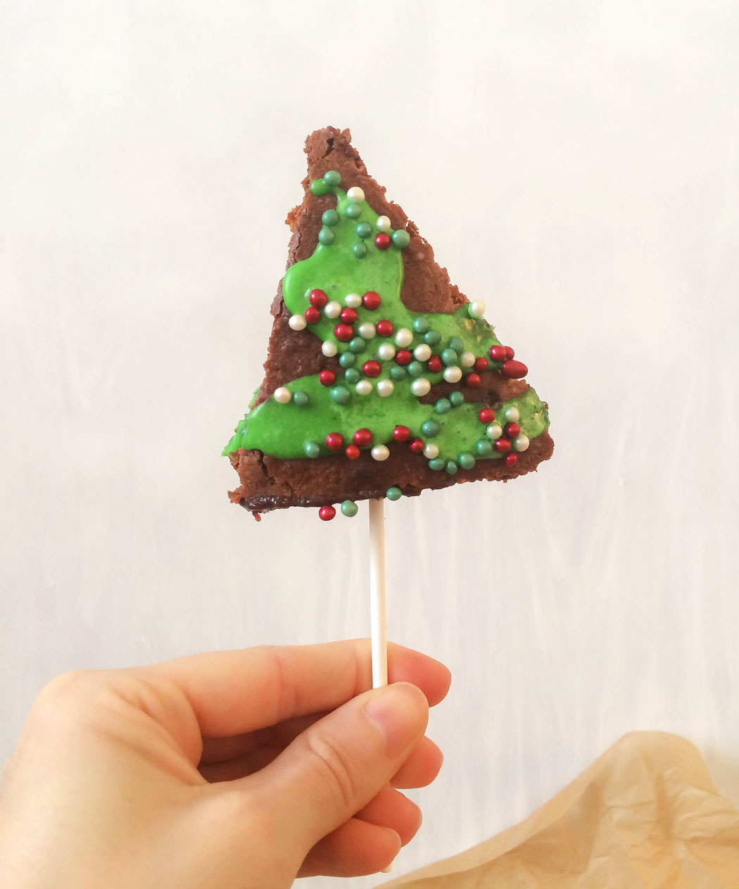 Brownie Weihnachten