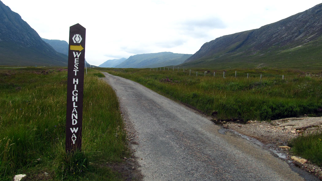 West Highland Way Schottland