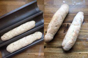 Französisches Baguette backen