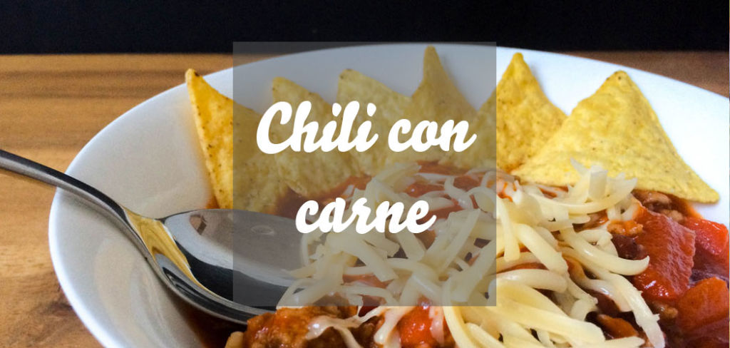 Chili con carne mit Tortillachips