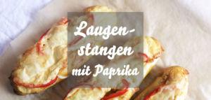 Laugenstange mit Paprika