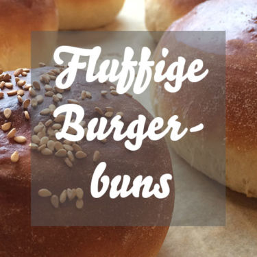 Fluffige Burgerbuns
