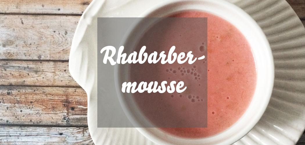 Rhabarbermousse Rezept