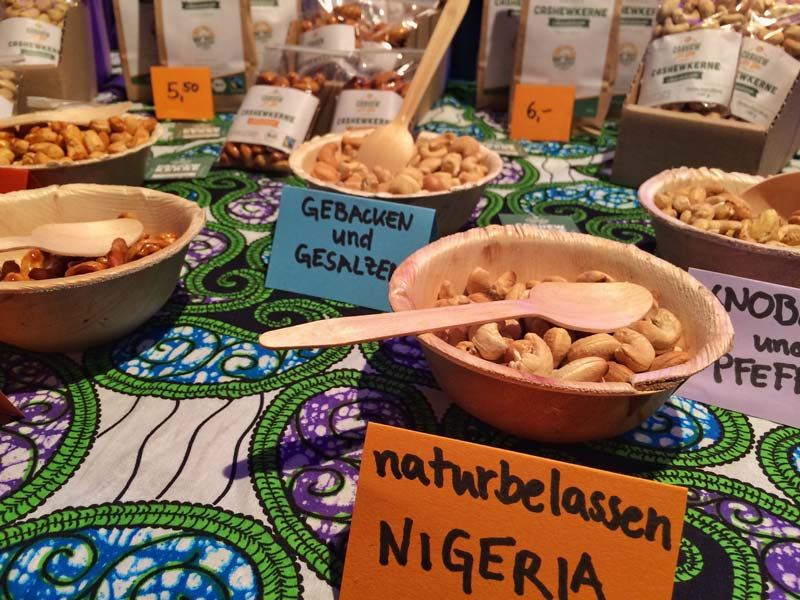 Cashew for you auf dem Startup Food Market in Berlin